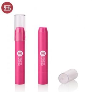 New Arrival China Paper Round Lipstick Tube - Round makeup eyeshadow lipstick pen empty packaging lipstick tube for cosmetics packaging  – Huasheng