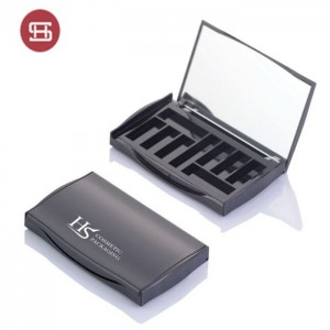 10 color classic item empty eyeshadow packaging