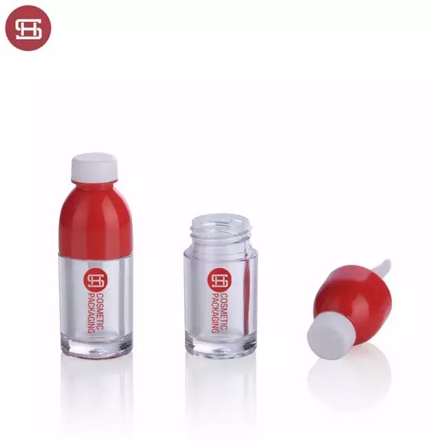 New promotion  cute  makeup cosmetic plastic empty lipgloss tube containers with brush Featured Image