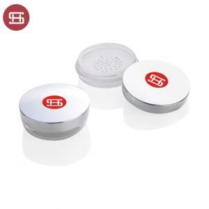 plastic square 4g loose powder case 9537
