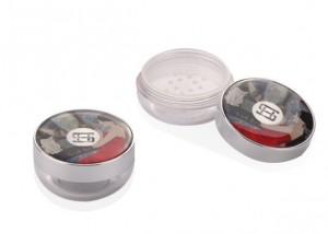 small empty plastic case loose powder —item no 9626