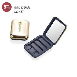 9649# magnet plastic  empty compact powder case