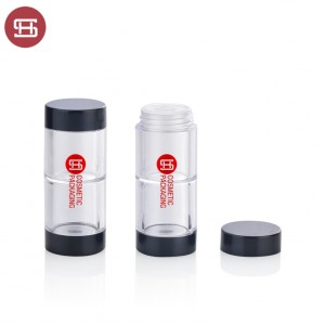 Wholesale hot sale plastic empty loose powder case jar with sifter 9660