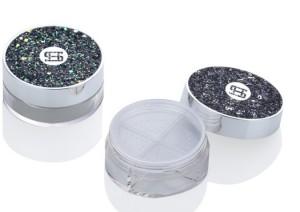 empty plastic case loose powder —item no 9664