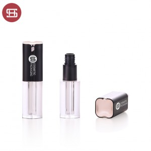 Wholesale customized lip gloss tube,lipgloss tube containers with brush