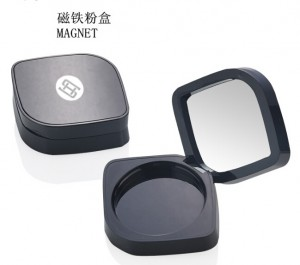 9732# empty compact powder case with mirror