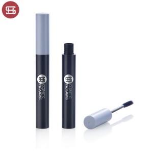 9746# Shantou huasheng private label mascara tube with silicone brush