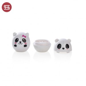 No.9787 OEM adorable customized animal shaped 7g lip balm tube container