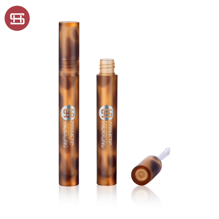 9837#3D Printing Amber All Clear Round Lip Gloss Containers Tubes Packaging 5ml Featured Image