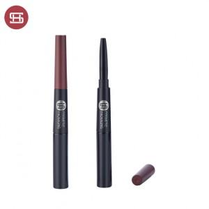 9846#Double End Empty Eyeliner Tube and Eyebrow Fixer Bottle
