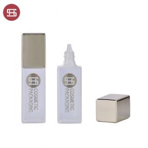 9855#Best Price Empty Square Liquid Foundation Cosmetic Cream Bottle