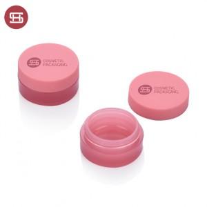 #9889 OEM round pink color empty cosemtc jar