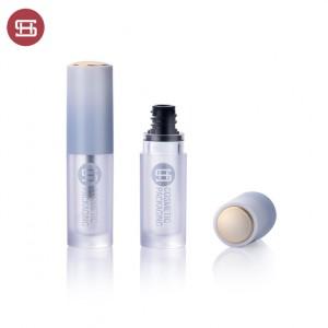 9902# New Unique Round Plastic Empty 5ml  Lip Gloss Bottle