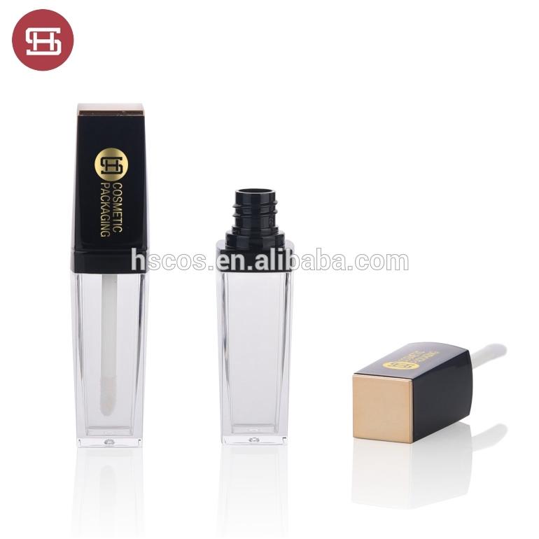 New arrival luxury empty liquid lipstick bottle cosmetic with brush