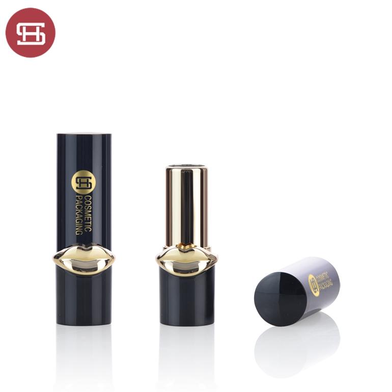 New Fashion Design for Plastic Lipstick Container - Wholesale empty luxury gold plastic lipstick tube – Huasheng