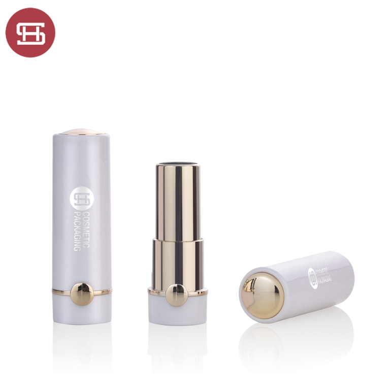 100% Original Matte Lipstick Tube - OEM hot new products wholesale cosmetic makeup custom fancy unique pearl white round empty lipstick tube container – Huasheng