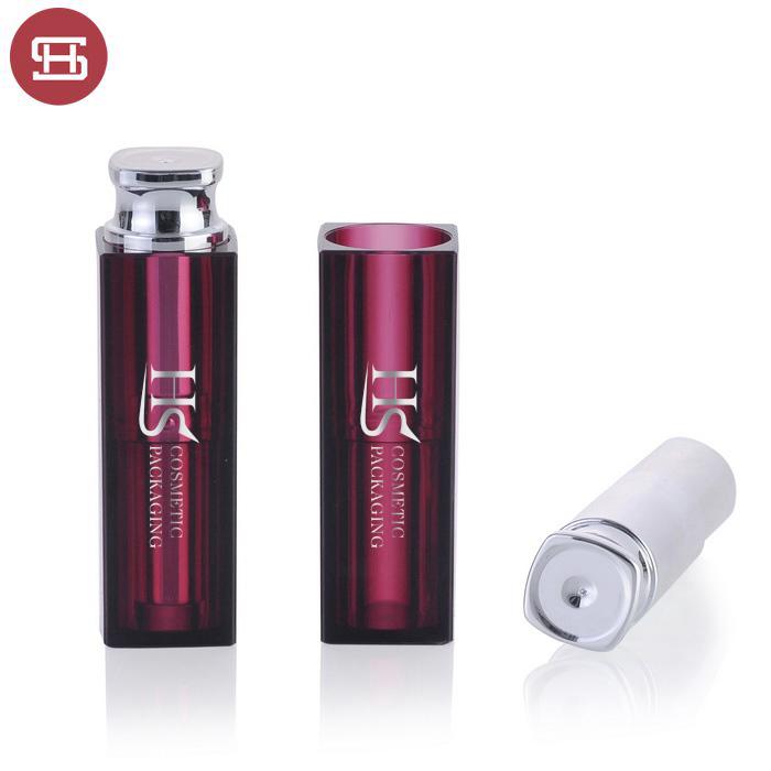brand empty lipstick tube