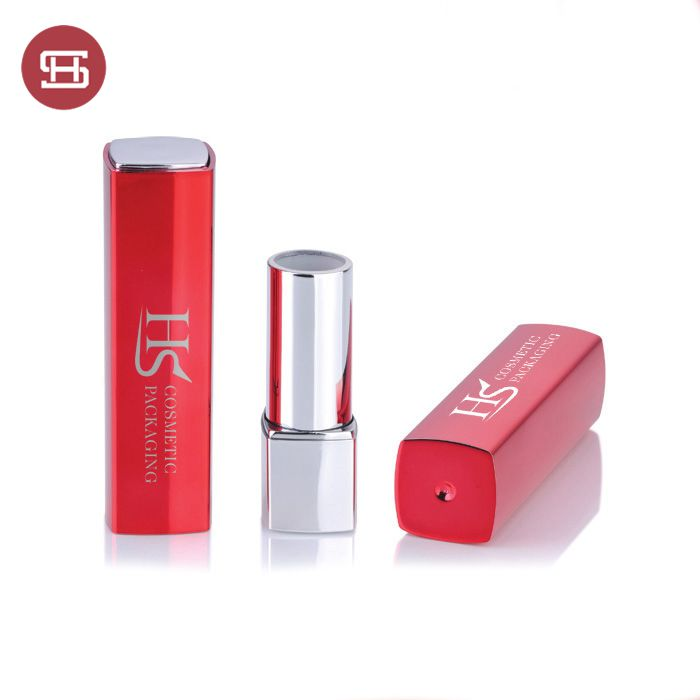 Hot sale  red color custom lipstick lipgloss tube container cosmetic packaging