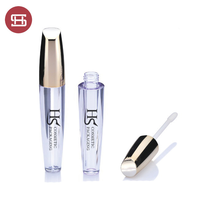 New custom gold cap  lip gloss tube
