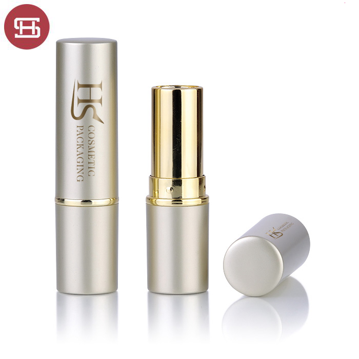 Hot New Products Gold/Silver/White/Black/Pink Empty Lipstick Tube - Hot sale wholesale cheap high quality luxury metal rose gold empty plastic lipstick tube container – Huasheng