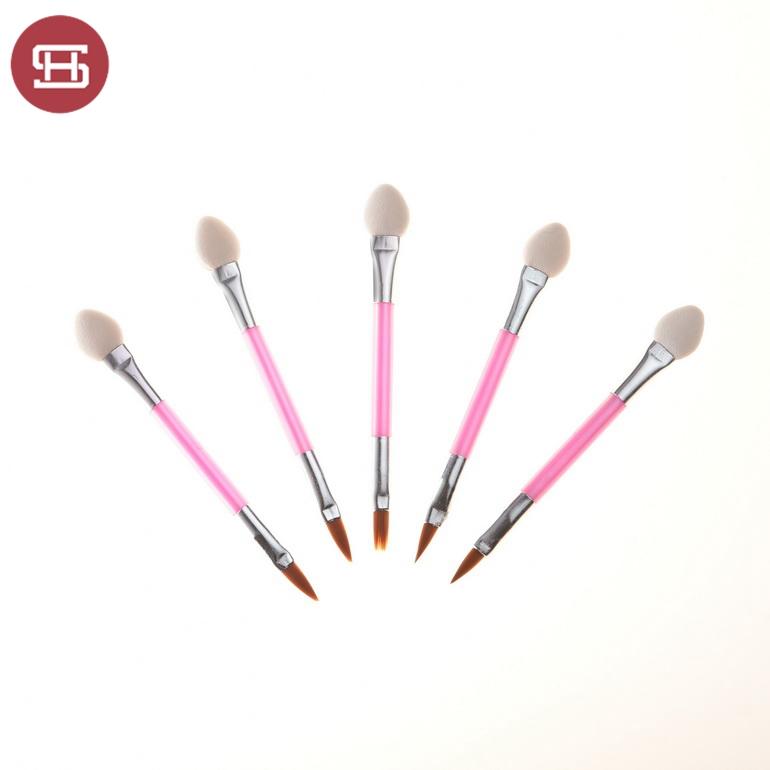 Custom high quality  eyebrow eyeshadow brush