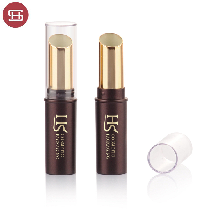 One of Hottest for Cosmetic Lipstick Container - Hot sale wholesale cheap custom slim round plastic empty lipstick tube container – Huasheng