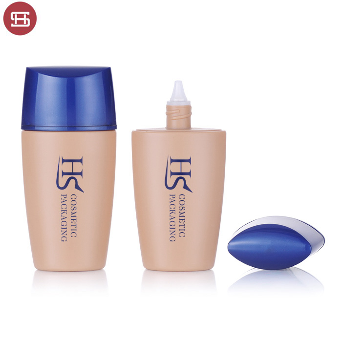 OEM empty liquid foundation makeup plastic soft tube container