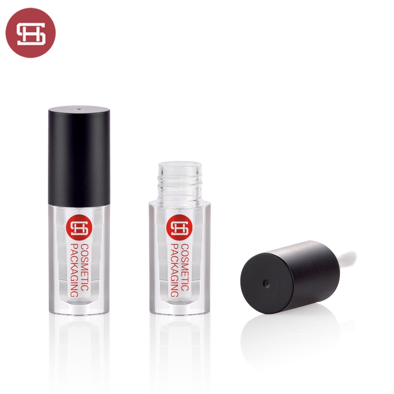 2019 Lipgloss container private label 3ml 4ml mini ip gloss Tubes with Wand