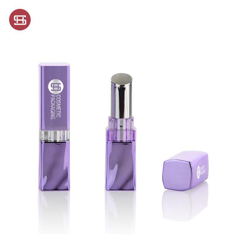 Special Price for Lipstick Paper Tube Packaging - Empty High end  irregular shape plastic lipstick tube – Huasheng